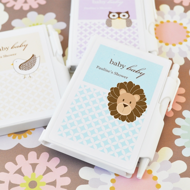 Lion Party Favors Notebook