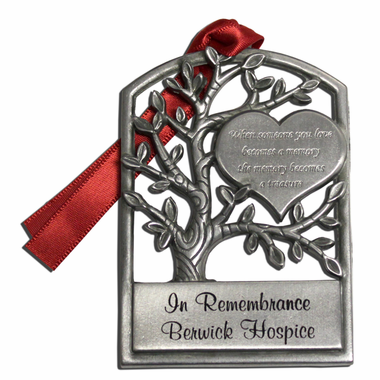 Memorial Ornaments Personalized - Pewter