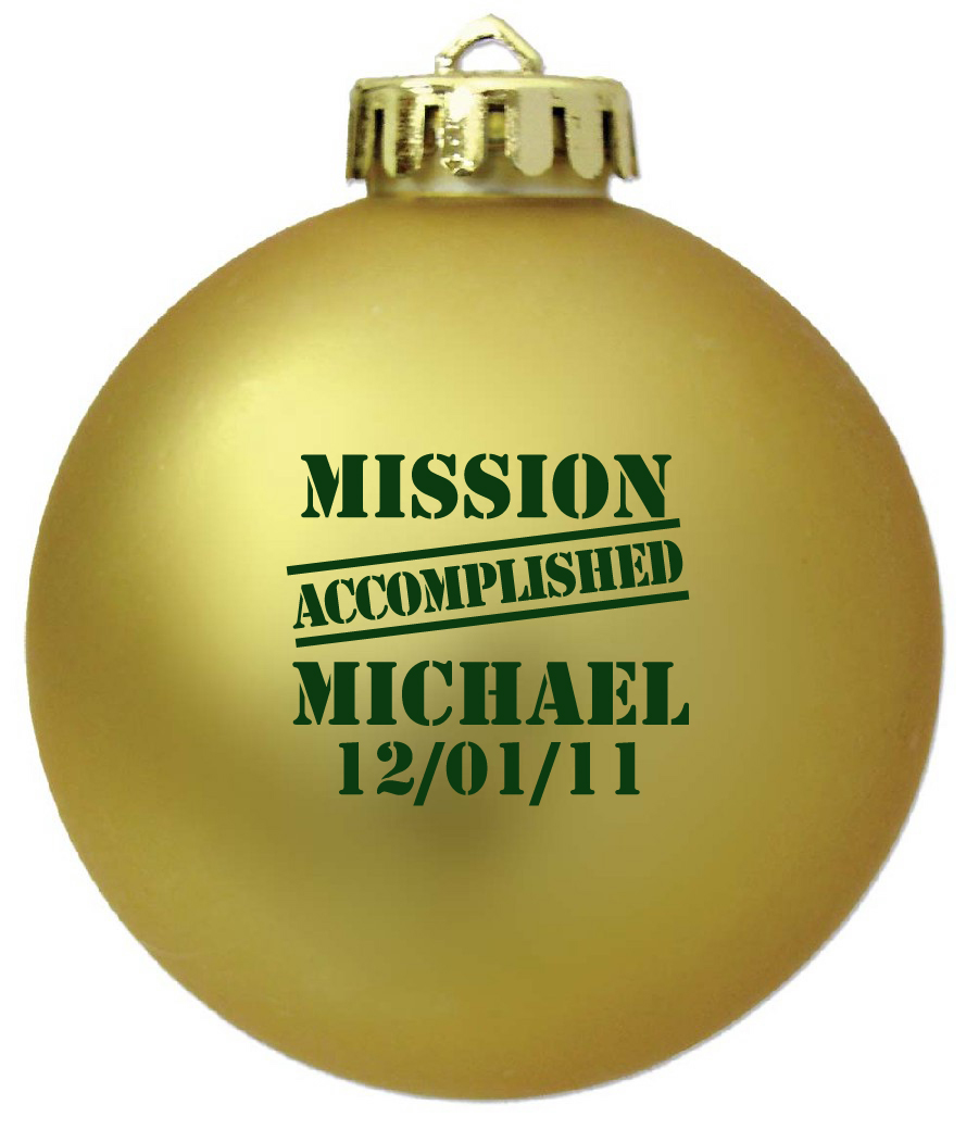 Memorial Christmas Ornaments Photo