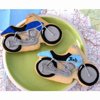 Motorcycle Cookies Favors