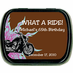 Motorcycle Party Favors