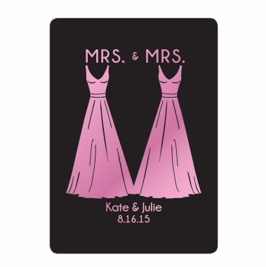 Mrs. and Mrs. Playing Cards