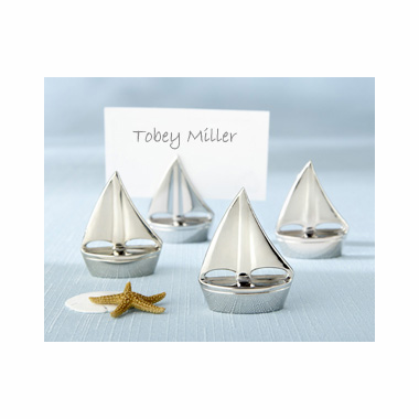 Nautical Placecard Holders - Set of 4