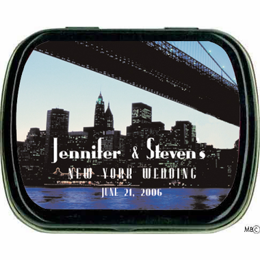 New York Favors Mint Tins