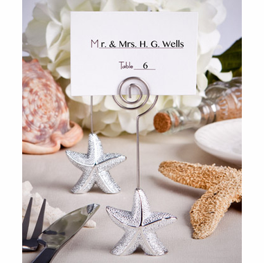 Ocean Theme Weddings Placecard Holder