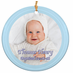 Ornament Christening Favors - Glass