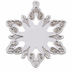 Ornament Snowflake Gold or Silver - Personalized