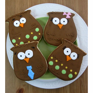 Owl Cookies Favors