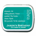 Party Favors Zodiac Mint Tins