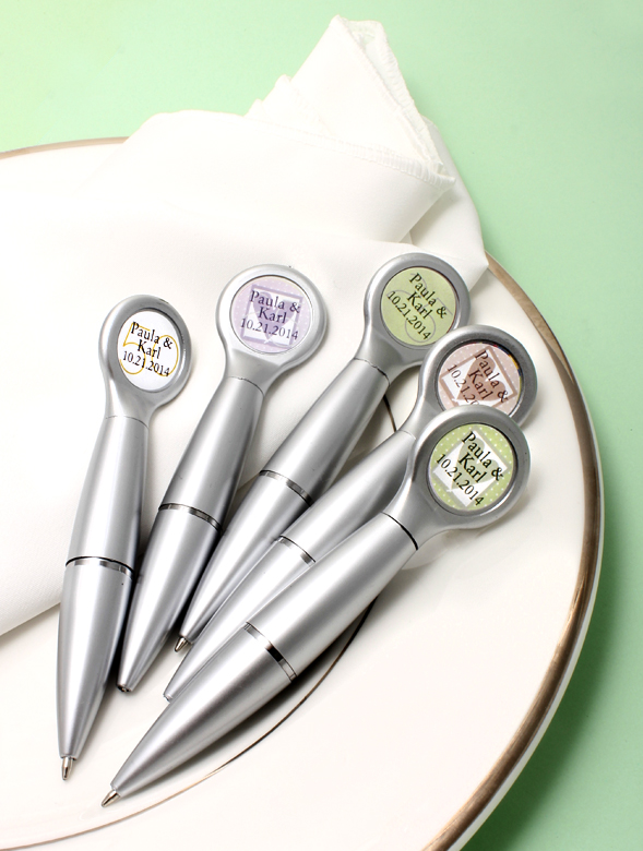 Pen Wedding Favors With Magnet