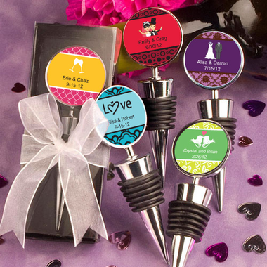 Personalized Bottle Stoppers Favors