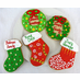 Personalized Christmas Cookie Favors