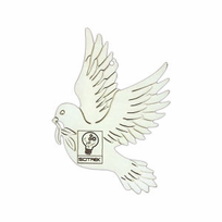 Personalized Dove Christmas Ornaments