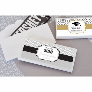Personalized Graduation Candy Bar Wrappers - Chocolate Bar Not Included