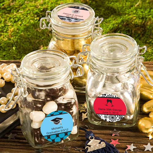 Personalized Graduation Party Candy Jar