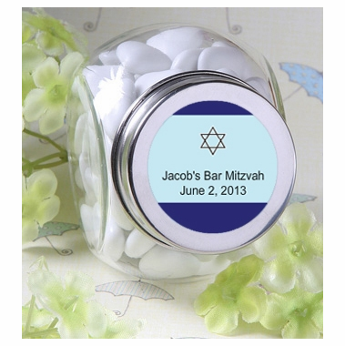 Personalized Mini Candy Jar Favors