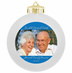 Personalized Photo Christmas Ornaments, Family Reunion