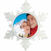 Personalized Photo Ornaments Snowflake