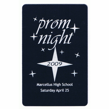 Personalized Prom Playing Cards