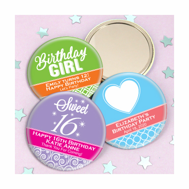Personalized Sweet 16  Mirrors