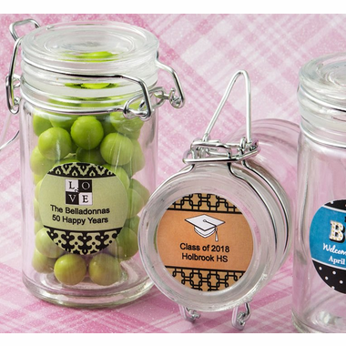 Personalized Tall Jars DIY