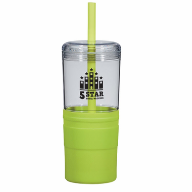 Personalized Tumblers with Lids and Straws