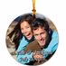 Photo Christmas Ornaments Ceramic