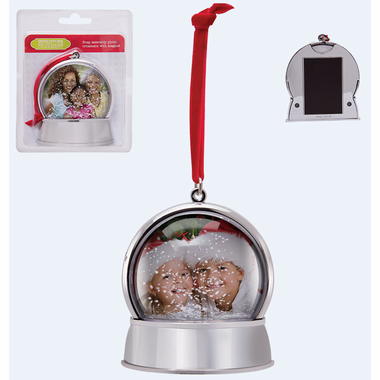Picture Frame Ornaments Snow Globe Magnet