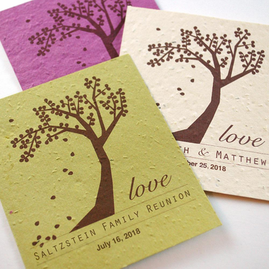 Plantable Wildflower Card