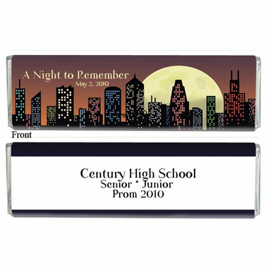 Prom Theme Chocolate Bars