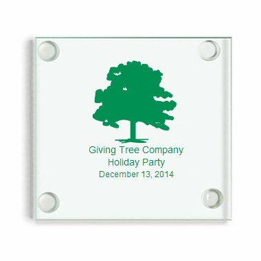 Promotional Coasters - Personalized Glass with Logo
