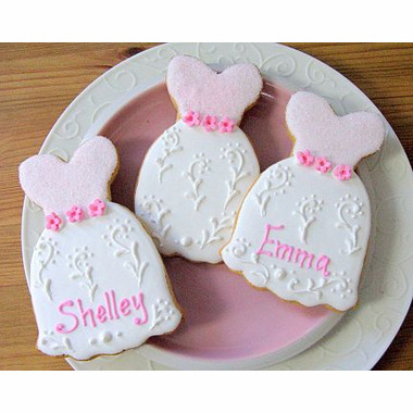 Quinceanera Gown Cookies