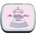 Quinceanera Mint Tin Favors - Mis Quince Anos Pink Dress