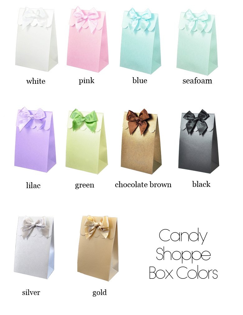 da1668d6eb5 Quinceanera Personalized Favor Bags Candy Boxes- Set of 12