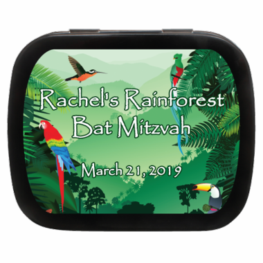 Rainforest Party Favors Mint Tins