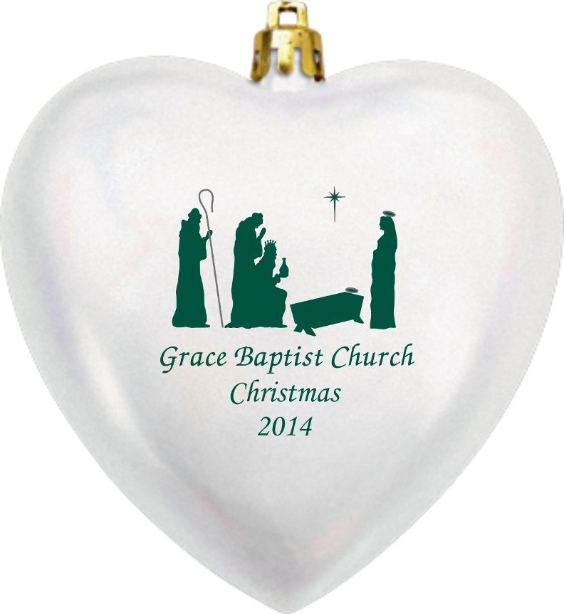 Religious Christmas Ornaments  Church or Childcare