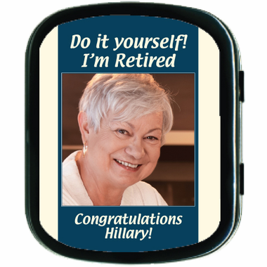 Retirement Favors Mint Tins