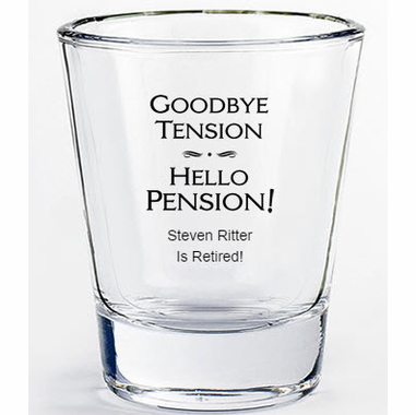 Retirement Shot Glasses