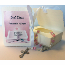 Rosary in Book Box Sample