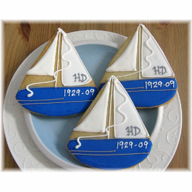 Sailboat Cookies Favors