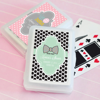 Shower Playing Cards Baby Themes