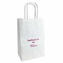 Personalized gift bags small personalized gift bags set of 25 negle Image collections