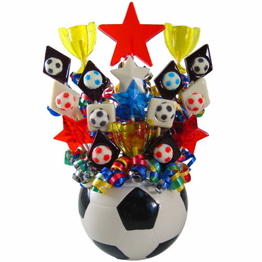 Soccer Centerpiece Decorations Lollipops
