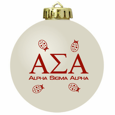 Sorority Christmas Ornaments or Fraternity
