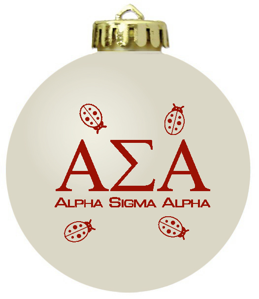 - Sorority Christmas Ornaments Or Fraternity