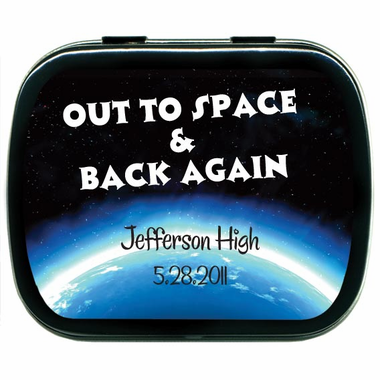 Space Prom Party Favors Custom Mints