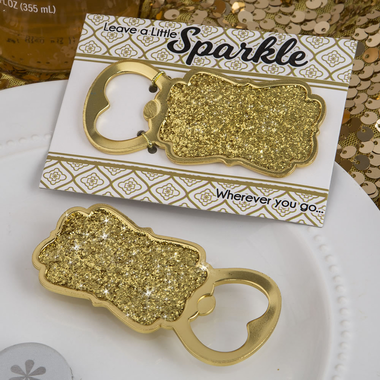 Sparkle Gold Bottle Opener