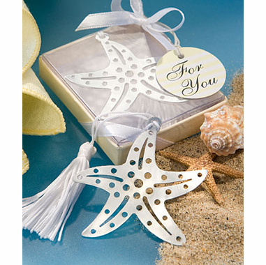 Starfish Bookmark Favor - Beach Party Favor