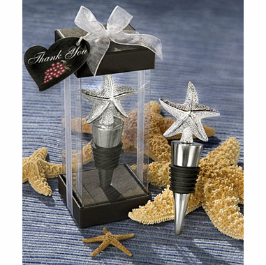 Starfish Bottle Stopper Beach Wedding Favor