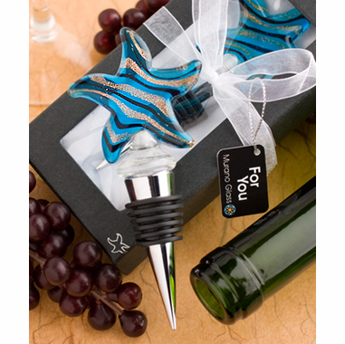 Starfish Favors - Wine Bottle Stoppers